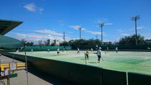 奥の細道シニアソフトテニス大会_2016-2-4